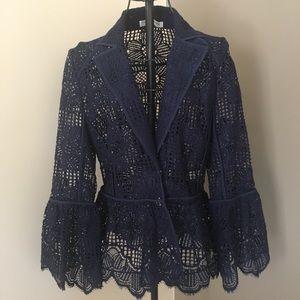 Trina Turk lace jacket